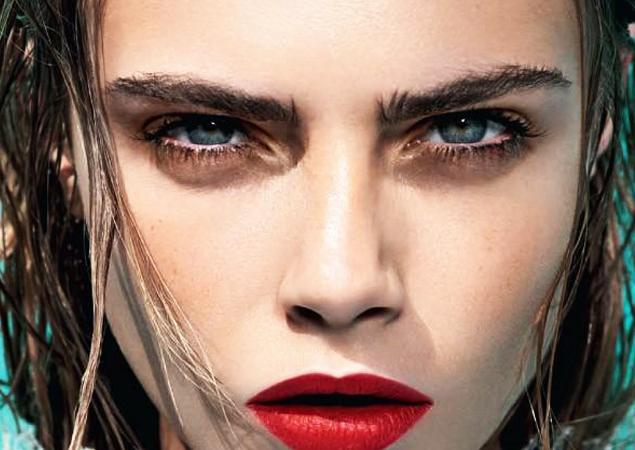Cara Delvigne Eyebrows